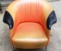 SIngle arm chair upholstery