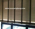 Pvc TImber blind in toilet