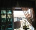 Day curtain at dining area