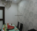 Wall paper in dining area