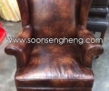 Italian classical wing chair